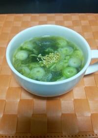 中華屋さんのチャーハンに合うスープ