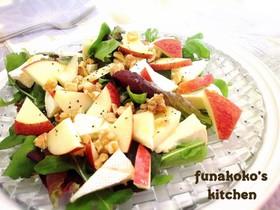 カマンベールとりんごのsweetサラダ