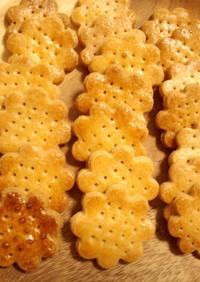 *さくほろ強力粉でさっくりクッキー*