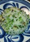 離乳食完了期☆しらすと小松菜の炒飯