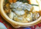 チゲ風♪簡単牡蠣のキムチ鍋