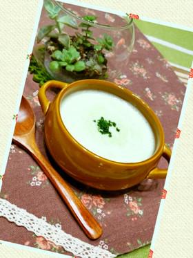 ブロッコリー使い切りなエコ優しいスープ