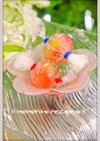 簡単お弁当デザート♡苺キャンディーゼリー