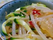 モヤシもうまうま♪中華クラゲ簡単ナムルの写真