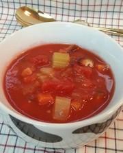 食べるトマトスープ♪野菜室の整理に!の写真