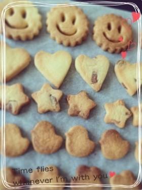 我が家の定番♡サクサククッキー♡♡