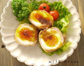 卵の豚バラ巻き☆お弁当にも