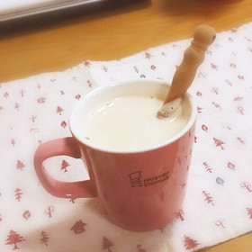 はちみつきなこのホットミルク。