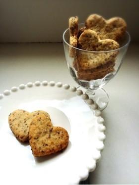 粒マスタードおつまみ型抜きクッキー