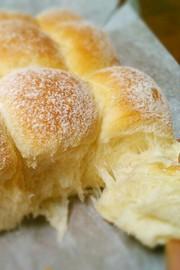 しっとりあまぁ~い♡ミルクちぎりパンの写真