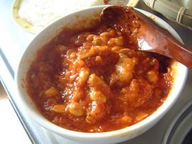 豚と大豆のトマト煮込み