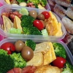 玉子好きさんのピクニックのお弁当♡
