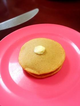 プルーンピューレとニンジンのパンケーキ