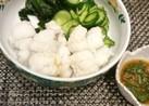 ハモの湯引き☆梅肉ソース