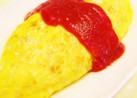 卵1個で節約オムライス(^_^;)