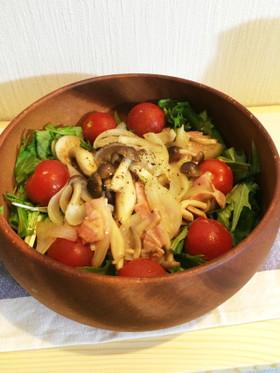 水菜のリンゴ酢サラダ