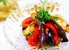 バルサミコで茄子とささみのマリネ♪