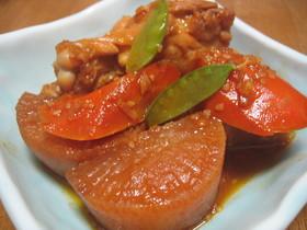手羽元&大根の韓国風煮物