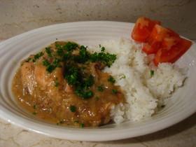 鶏のチキンスープ煮(レモン風味)
