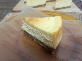 お店に負けない!本格的濃厚チーズケーキ♪