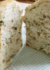 HB早焼き✿黒豆の食パン✿米粉入り