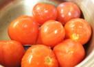 あっという間!トマトの湯むき♪