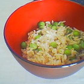 玄米豆ご飯