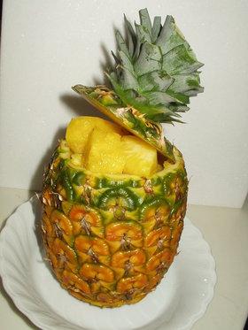 パイナップルの切り方 (3)