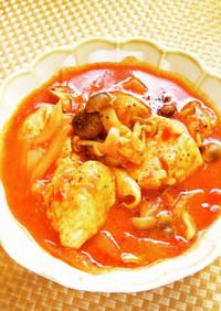 ☺簡単減塩レシピ♪鶏肉のトマト煮☺