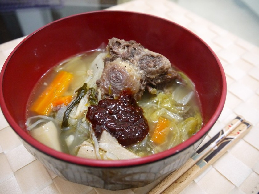 韓国人ママ☆スナックの牛テールスープ♡