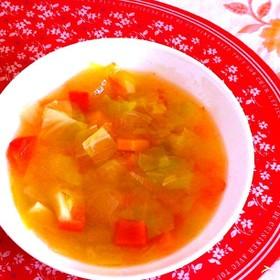 脂肪燃焼スープ(セロリ、トマト嫌いな人用