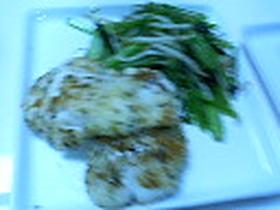 白身魚のハーブパン粉焼