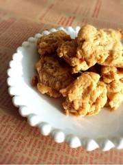 簡単♪市販のキャラメルでドロップクッキーの写真