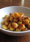 ホタテのハチミツ甘辛焼き