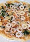 強力粉でピザ