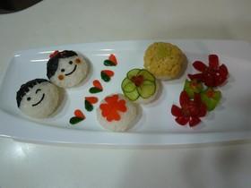 ひな祭りにも!お野菜の手まり寿司