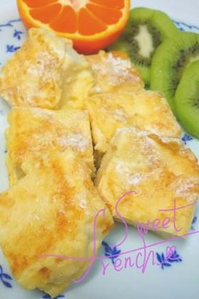 糖質制限高野豆腐ふわふわフレンチトースト