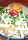 ふわとろトマトうどん(冷し)