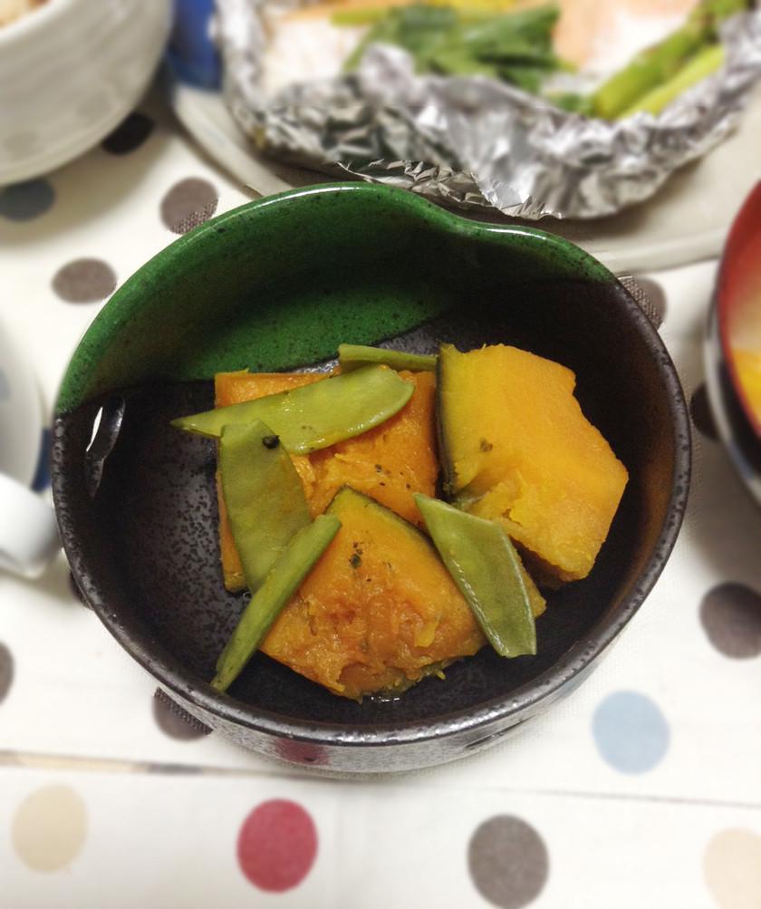 時短♪冷凍保存のかぼちゃで煮付け☆