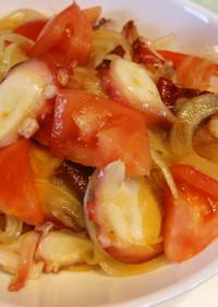 劇的簡単☆たことトマトのポン酢マリネ