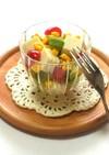 アボカドとお豆腐のカップサラダ
