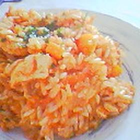 玄米ジャンバラヤ