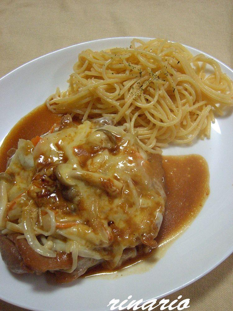 ✿チキンの野菜チーズ焼き✿
