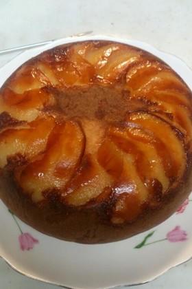 りんご炊飯機ケーキ♥簡単
