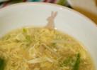 ♡卵・えのき・レタスのトロリ中華スープ♡