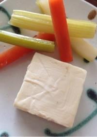 クリームチーズの酒粕漬け