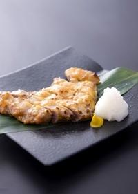 豚肉の味噌かす焼き