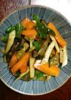 筍とウド入り、春の野菜炒め