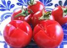 プチトマトでお花♡