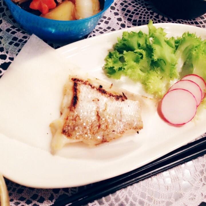 鯛の塩焼き♡+魚の捌き方♪ 初心者にも*